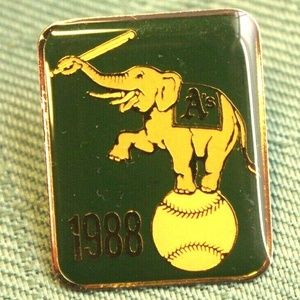 Other - Oakland Athletics 1988 Premier Pin Collection